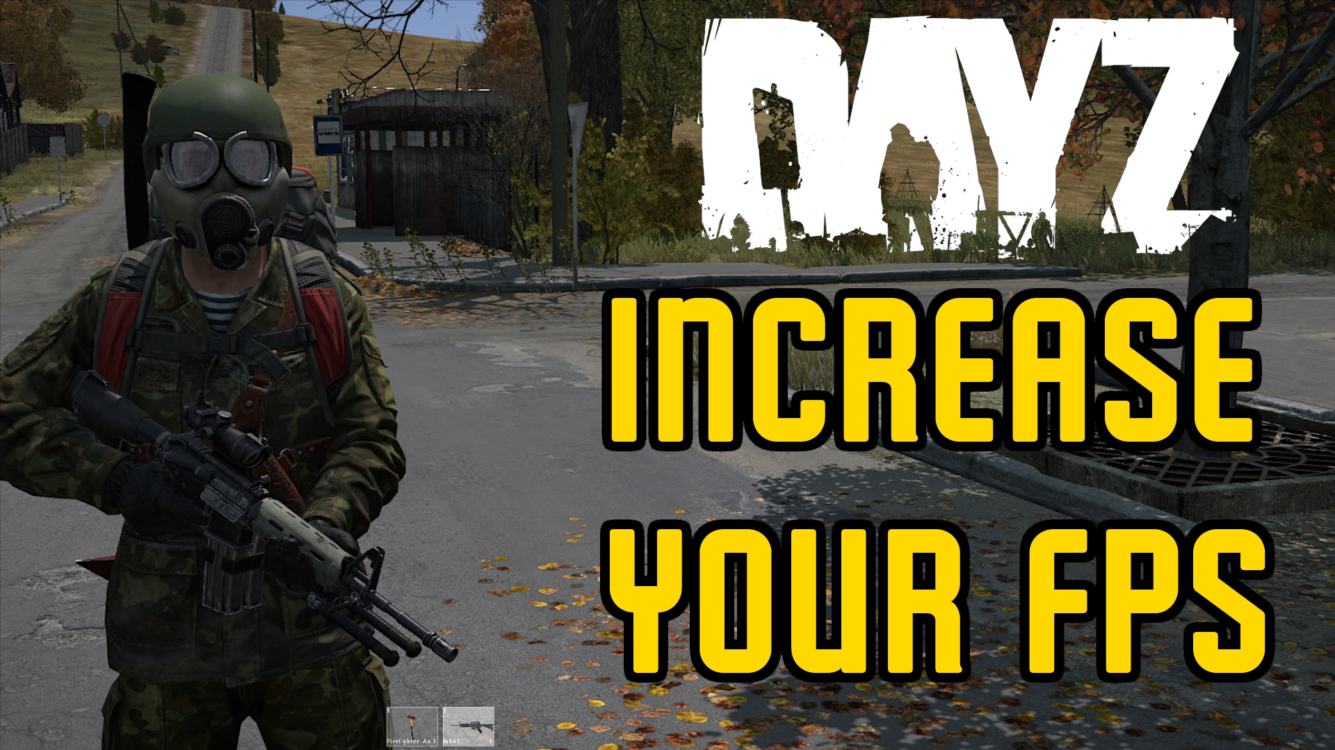 increase your FPS in dayz - settings