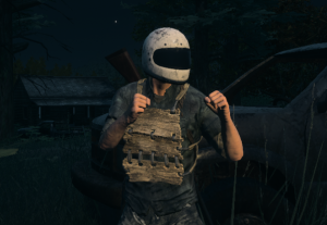 Player Wearing Wooden Body Armor H1Z1